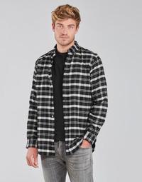 Textiel Heren Overhemden lange mouwen Polo Ralph Lauren PERINE Zwart