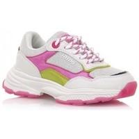Schoenen Meisjes Lage sneakers MTNG DEPORTIVAS NIÑA MUSTANG BEIGE 48201 Wit