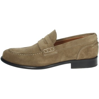 Schoenen Heren Mocassins Gino Tagli 652 Brown Taupe