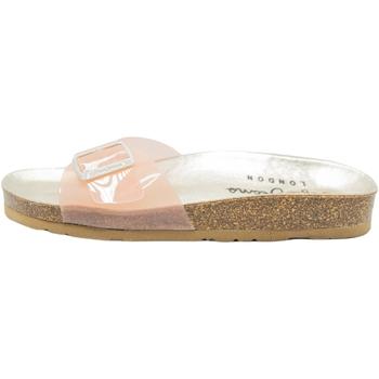 Schoenen Dames Leren slippers Pepe jeans Oban Vinyl Roze