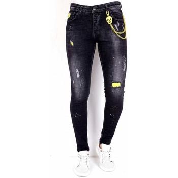 Textiel Heren Skinny jeans Local Fanatic Jeans Stretch Zwart
