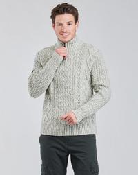 Textiel Heren Truien Superdry JACOB HENLEY Grijs