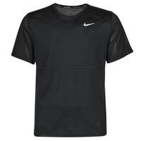 Textiel Heren T-shirts korte mouwen Nike  Zwart