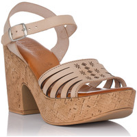 Schoenen Dames Sandalen / Open schoenen Emmshu KATYA Beige