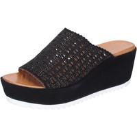 Schoenen Dames Leren slippers Femme Plus Sandalen BJ890 ,