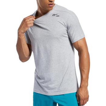 Textiel Heren T-shirts korte mouwen Reebok Sport  Grijs