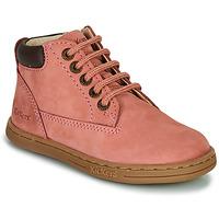 Schoenen Meisjes Laarzen Kickers TACKLAND Roze