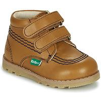 Schoenen Kinderen Laarzen Kickers NONOMATIC Camel