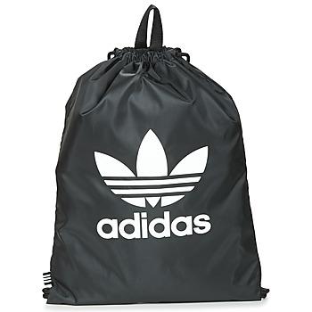 Tassen Rugzakken adidas Originals GYMSACK TREFOIL Zwart