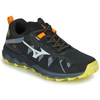 Schoenen Heren Running / trail Mizuno WAVE DAICHI 4 Zwart / Oranje