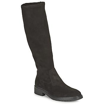 Schoenen Dames Hoge laarzen Unisa EDANA Zwart