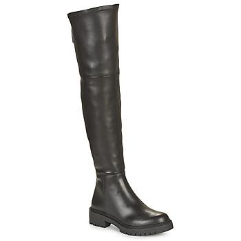 Schoenen Dames Hoge laarzen Unisa GINKO Zwart