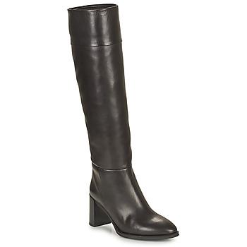 Schoenen Dames Hoge laarzen Unisa USOLA Zwart
