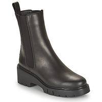 Schoenen Dames Laarzen Unisa JOSTO Zwart