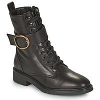 Schoenen Dames Laarzen Unisa EDECAN Zwart
