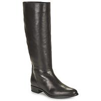 Schoenen Dames Hoge laarzen Unisa BLEND Zwart