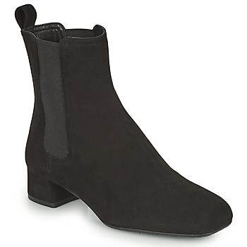Schoenen Dames Enkellaarzen Unisa GUSO Zwart