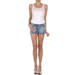 Textiel Dames Korte broeken / Bermuda's Brigitte Bardot JUE Blauw