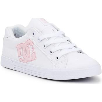 Schoenen Dames Lage sneakers DC Shoes DC Chelsea ADJS300243-WPW white