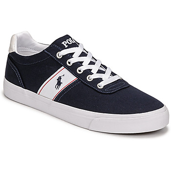 Schoenen Lage sneakers Polo Ralph Lauren HANFORD RECYCLED CANVAS Marine