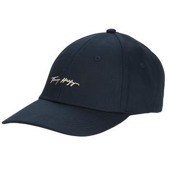 Accessoires Dames Pet Tommy Hilfiger SIGNATURE CAP Marine