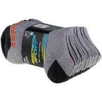 Accessoires Kinderen Sokken Skechers Boys 6pk No Show Socks Grise