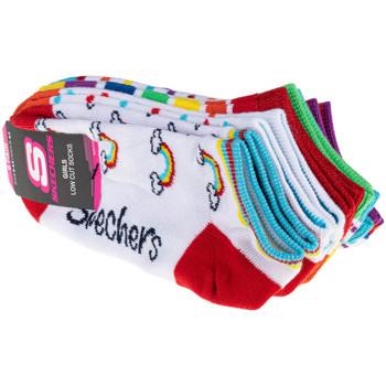 Accessoires Kinderen Sokken Skechers 6pk Girls No Terry Multicolore