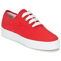 Schoenen Dames Lage sneakers Yurban PLUO Rood