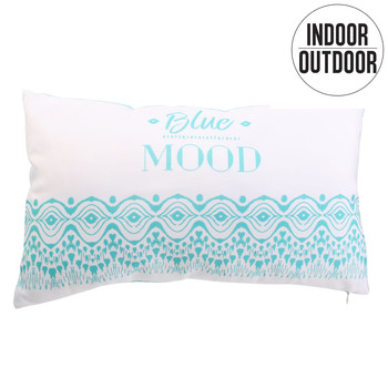 Wonen Kussens The home deco factory BLUE MOOD Turquoize