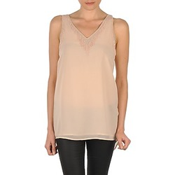 Textiel Dames Mouwloze tops Vero Moda PEARL SL LONG TOP Roze