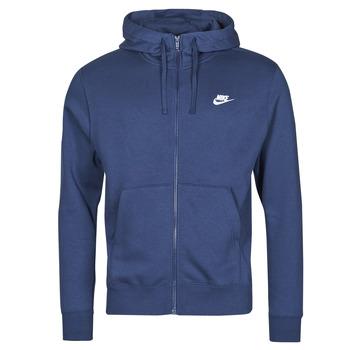 Textiel Heren Sweaters / Sweatshirts Nike NIKE SPORTSWEAR CLUB FLEECE Blauw / Marine / Wit