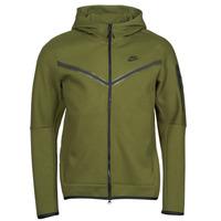 Textiel Heren Trainings jassen Nike NIKE SPORTSWEAR TECH FLEECE Groen / Zwart