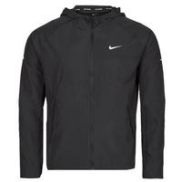 Textiel Heren Windjack Nike M NK RPL MILER JKT Zwart / Zilver