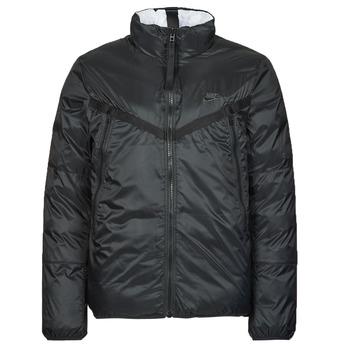 Textiel Heren Dons gevoerde jassen Nike M NSW TF RPL REVIVAL REV JKT Zwart / Grijs