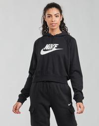 Textiel Dames Sweaters / Sweatshirts Nike NIKE SPORTSWEAR ESSENTIAL Zwart / Wit