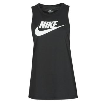 Textiel Dames Mouwloze tops Nike NIKE SPORTSWEAR Zwart / Wit