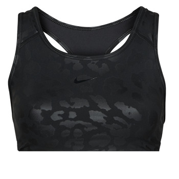 Textiel Dames Sport BH's Nike W NP DF SWSH LEPARD SHINE BRA Zwart