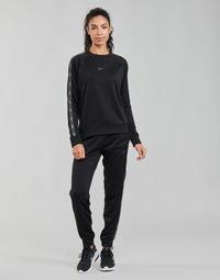Textiel Dames Trainingsbroeken Nike W NSW PK TAPE REG PANT Zwart