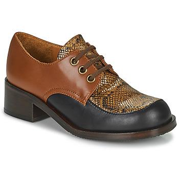 Schoenen Dames Mocassins Chie Mihara TUDU Bruin / Zwart