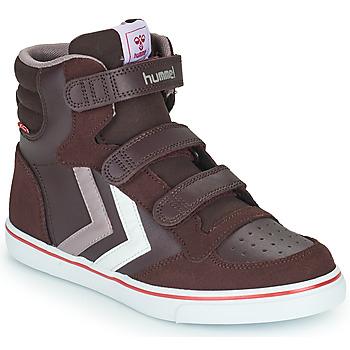 Schoenen Meisjes Hoge sneakers Hummel STADIL PRO JR Bordeau
