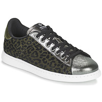 Schoenen Dames Lage sneakers Victoria TENIS LEOPARDO Kaki