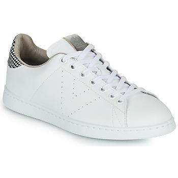 Schoenen Dames Lage sneakers Victoria TENIS VEGANA/ GALES Wit / Grijs