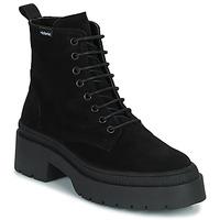 Schoenen Dames Laarzen Victoria CIELO SERRAJE Zwart