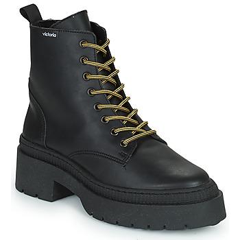 Schoenen Dames Laarzen Victoria CIELO PIEL VEGANA Zwart