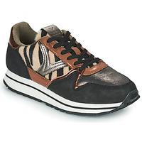 Schoenen Dames Lage sneakers Victoria COMETA MULTI Zwart / Bruin