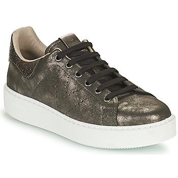 Schoenen Dames Lage sneakers Victoria UTOPIA METAL GLITTER Grijs