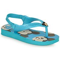 Schoenen Jongens Teenslippers Havaianas BABY DISNEY CLASSICS II Blauw