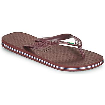 Schoenen Teenslippers Havaianas BRASIL Blauw