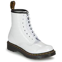 Schoenen Dames Laarzen Dr Martens 1460 W Wit