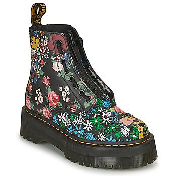 Schoenen Dames Laarzen Dr Martens SINCLAIR Zwart / Multicolour